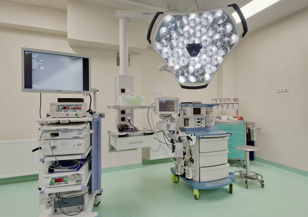 profesjonalny sprzęt medyczny kliniki