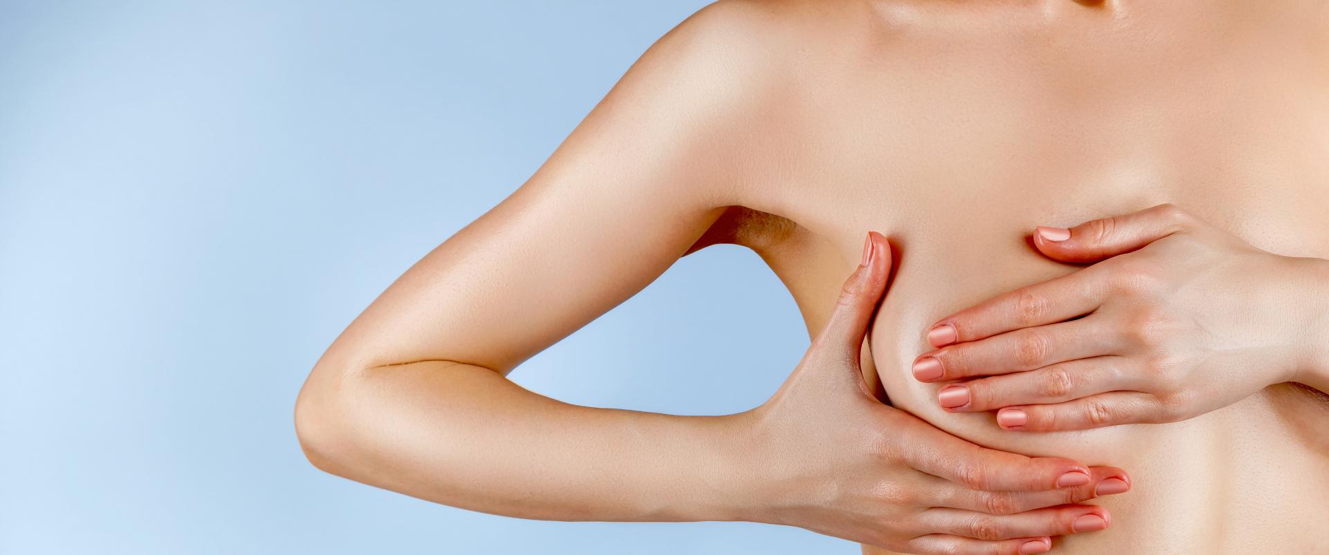 Niesymetryczne piersi - asymetria biustu